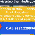 Provident Northern Destiny 2/3 BHK Apartments in Bangalore
