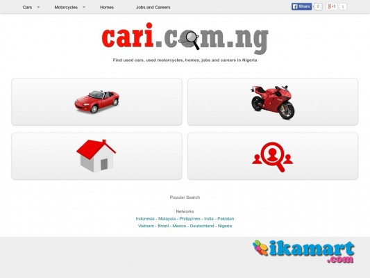 Find used cars, used motorcycles, homes, jobs and careers in Nigeria
